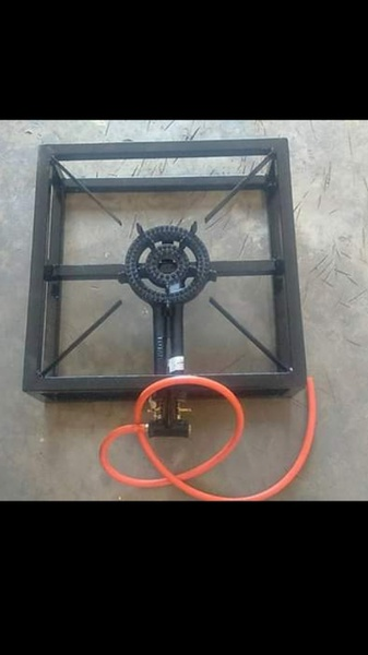 One plate gas burner picture