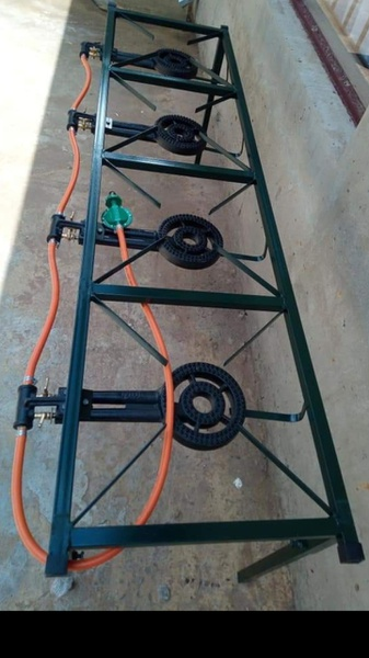 Four plate gas burner picture