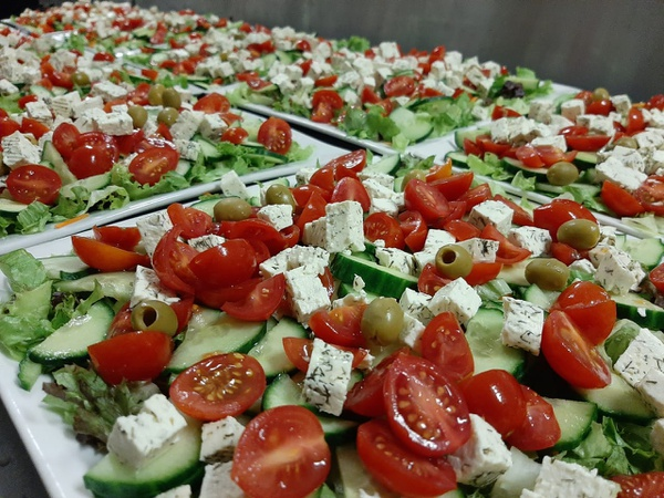 Homemade salads picture