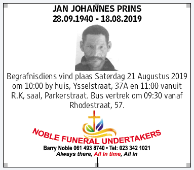 Late jan johannes prins picture