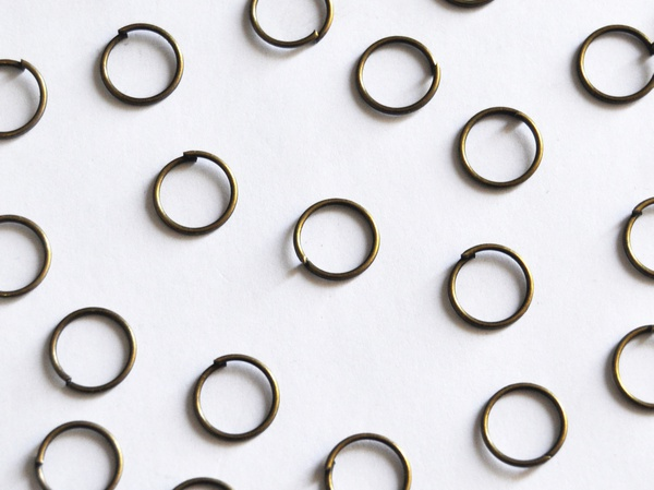Jump rings 6mm picture