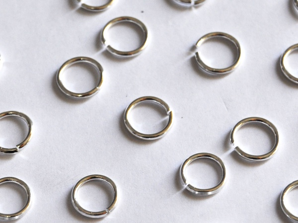 Jump rings 8mm picture