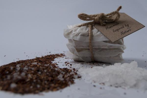 Bath detox tea bags picture