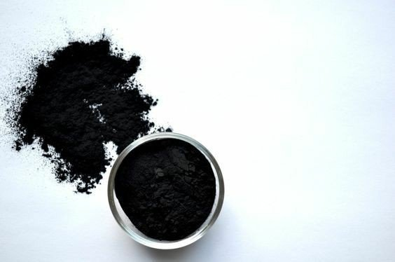 Charcoal clay mask picture