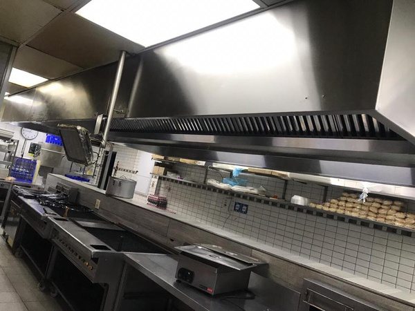 Specialist in cleaning of kitchen extraction picture