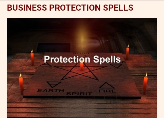 BUSINESS PROTECTION SPELL picture