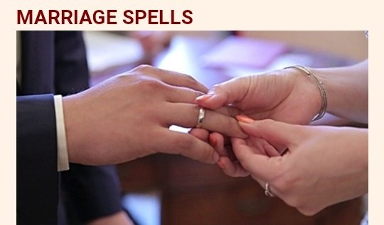 MARRIAGE SPELLS picture
