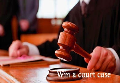 WIN COURT CASES picture