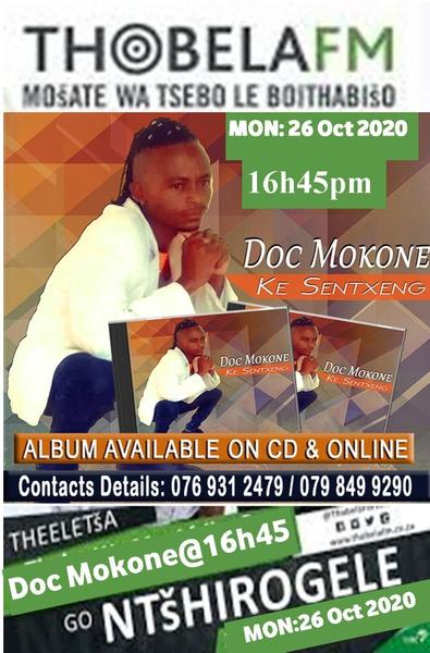 Doc Mokone on Thobela FM Interview picture
