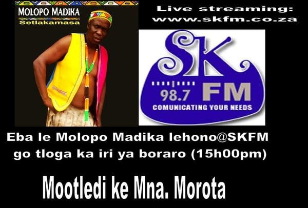 Molopo Madika go SKFM@98.7Mhz picture