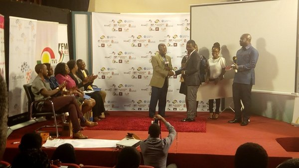 Ceo of skylink agro solutions was awarded picture