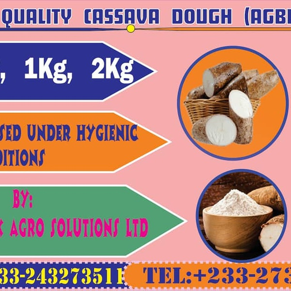 Quality cassava dough(agblema) picture