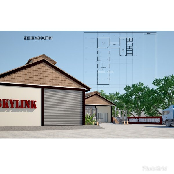 Skylink is set to build an ultra morden factory picture