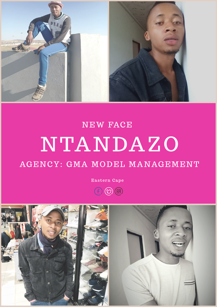 New face: model ntandazo picture