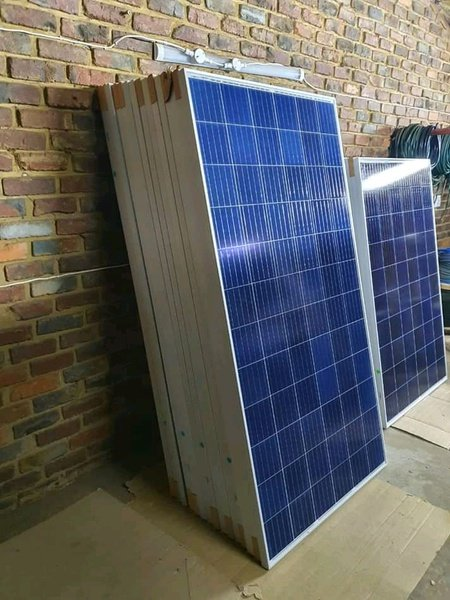 320 watts and 100 watt solar panels picture