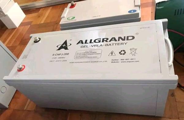 Allgrad gel batteries picture