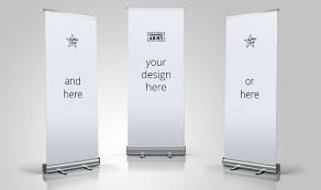Roll-up banners picture