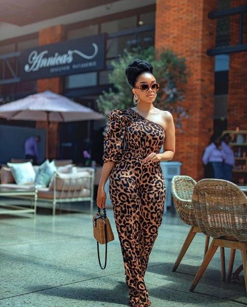 Leopard print jumpsuit picture