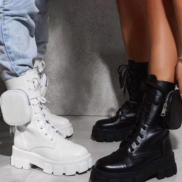 Side pocket hunter boots picture
