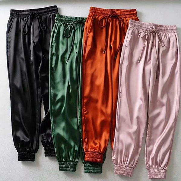 Silk pants picture