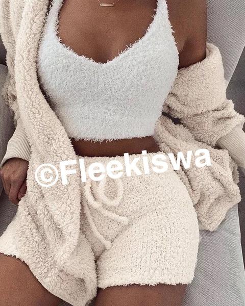 Knit winter pyjama picture