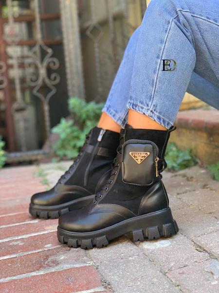 Prada hunter boots picture
