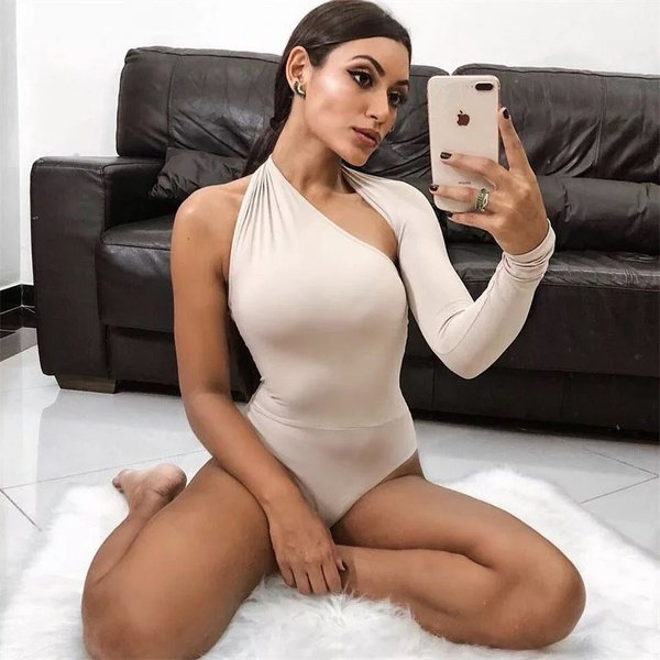One hand bodysuit picture