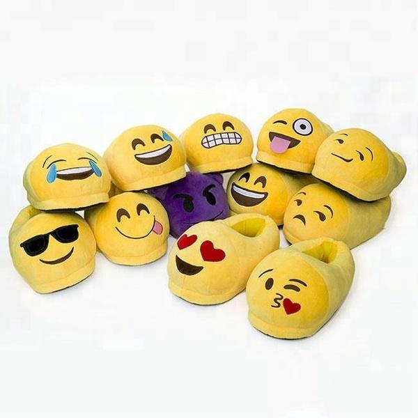 Emoji slippers picture