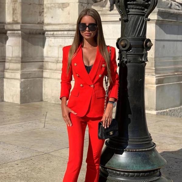 Boss lady suit picture