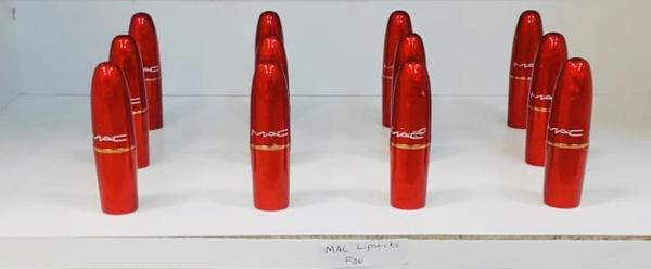 Mac lipsticks picture