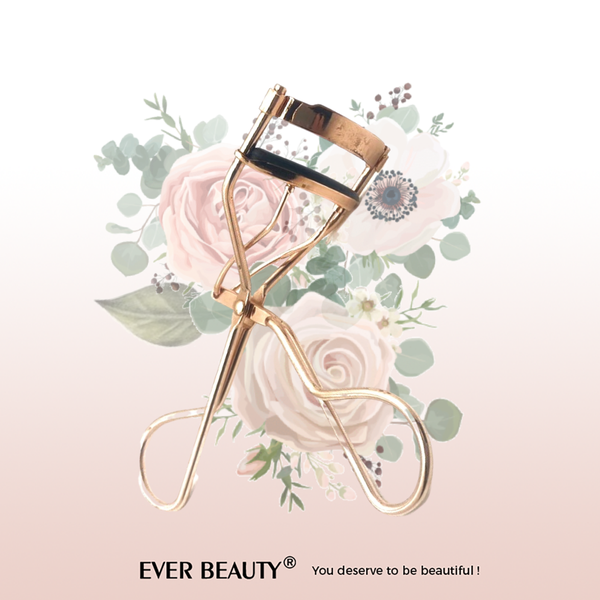 Rose gold eyelash curler picture