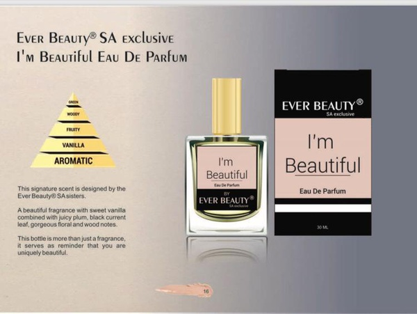 I'm beautiful fragrance 30ml picture