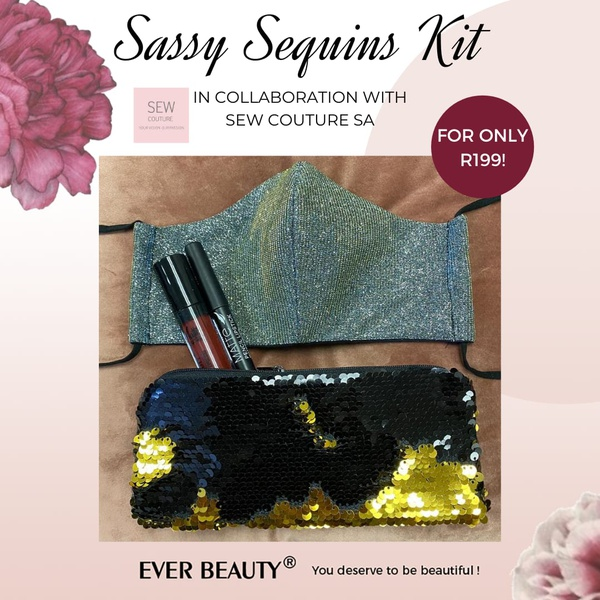 Ever beauty sassy sequins kit (blue) picture