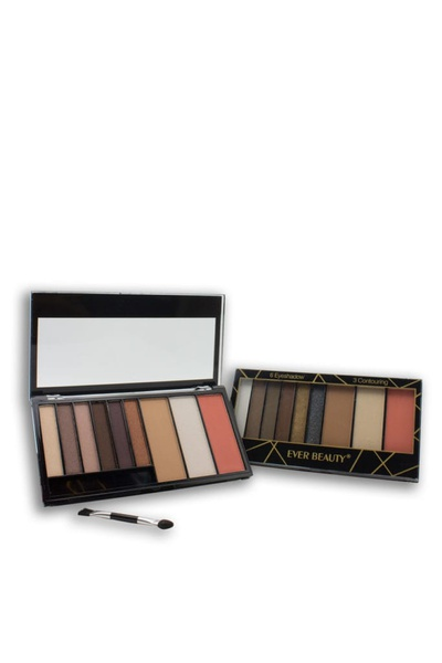 Ever beauty eyeshadow & contour 9 in 1 palette picture