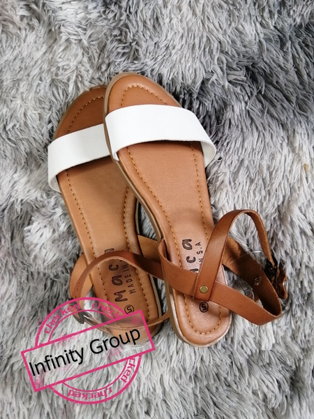 Annabelle sandals tan/white picture