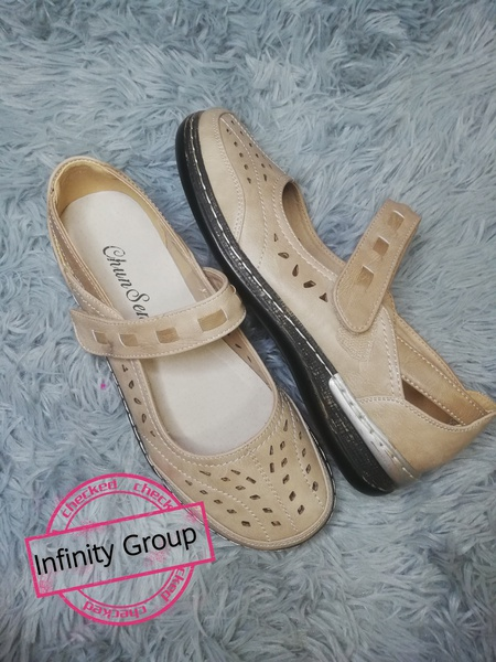 Becky shoes beige picture