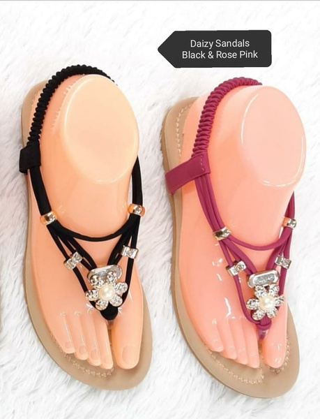 Daisy sandals black picture