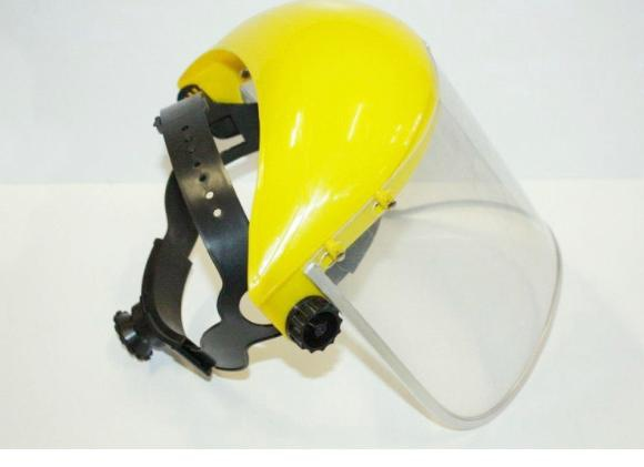 Flip semi hard hat shields picture