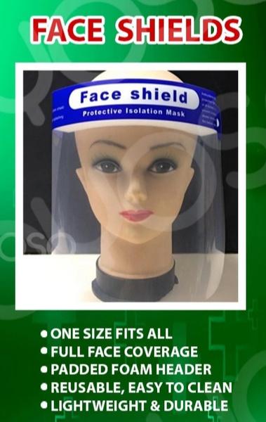 Face shields non fog picture