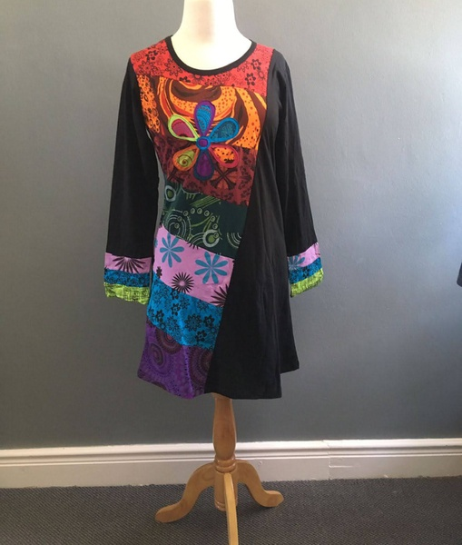 Code 11 flower dress/top picture