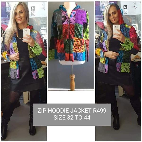 Code 6 zip hoodie block jacket picture