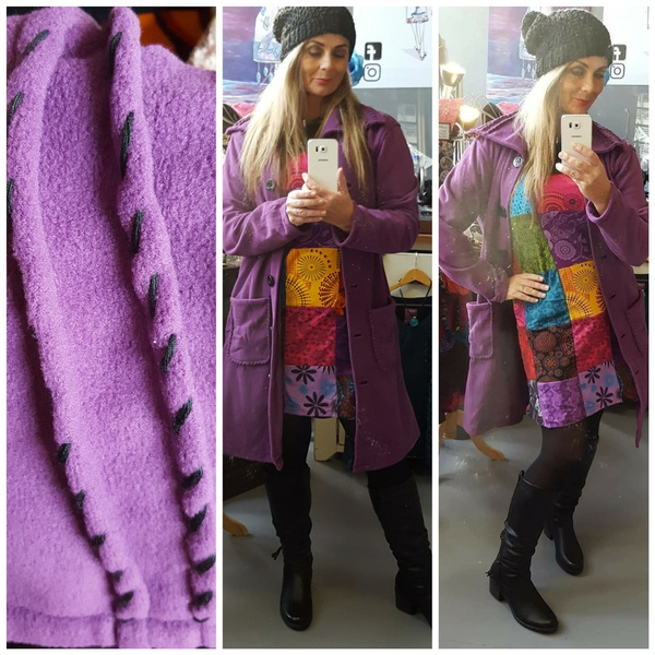 Code 15 coat lilac picture