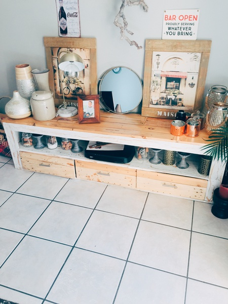 Tv unit and coffee table luna picture