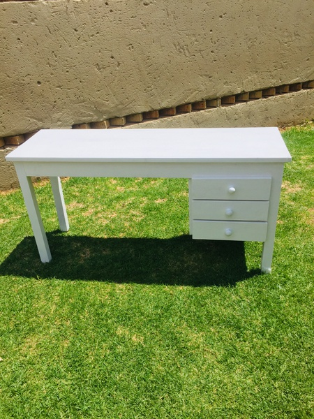 Desk with drawers picture