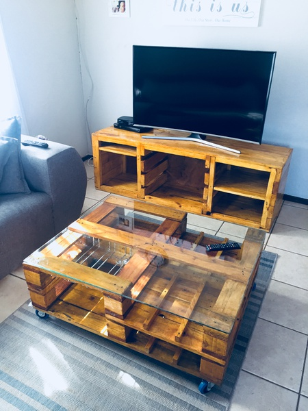 Tv unit and coffee table nestandoak picture