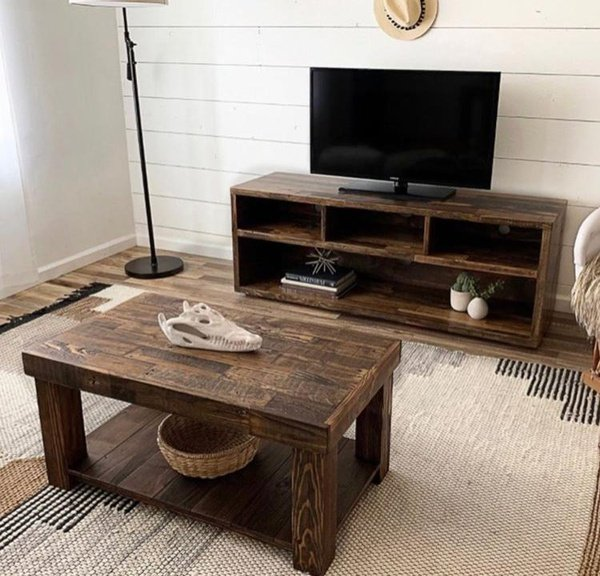 Tv unit and coffee table thusi picture