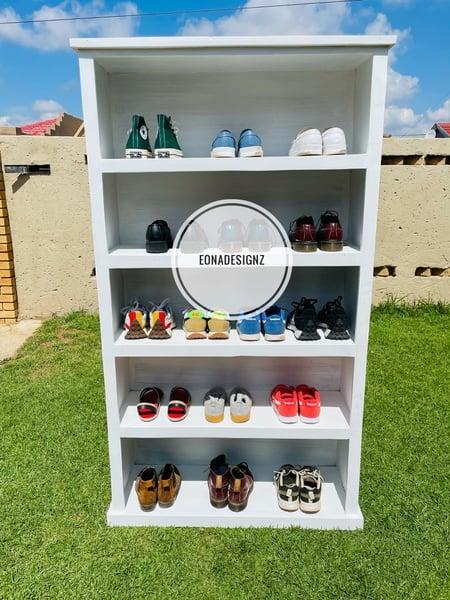 Eona designz - 5 tier shoe rack picture