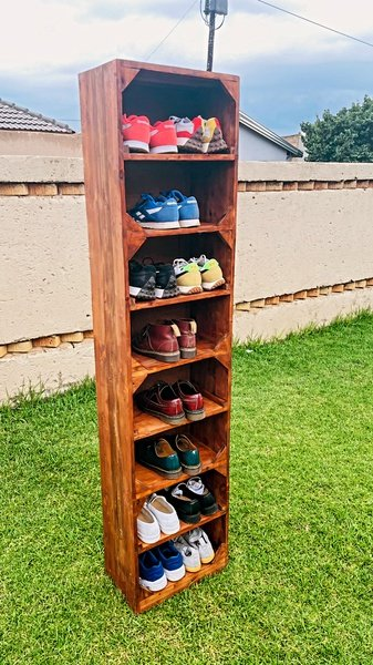 Shoe rack (16 pairs) picture