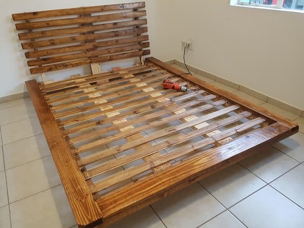Muffin style type 1 platform bed picture