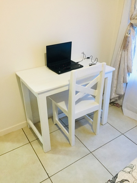 Desk and chair rea picture